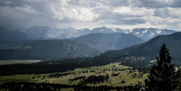 View of the valley. RMNP